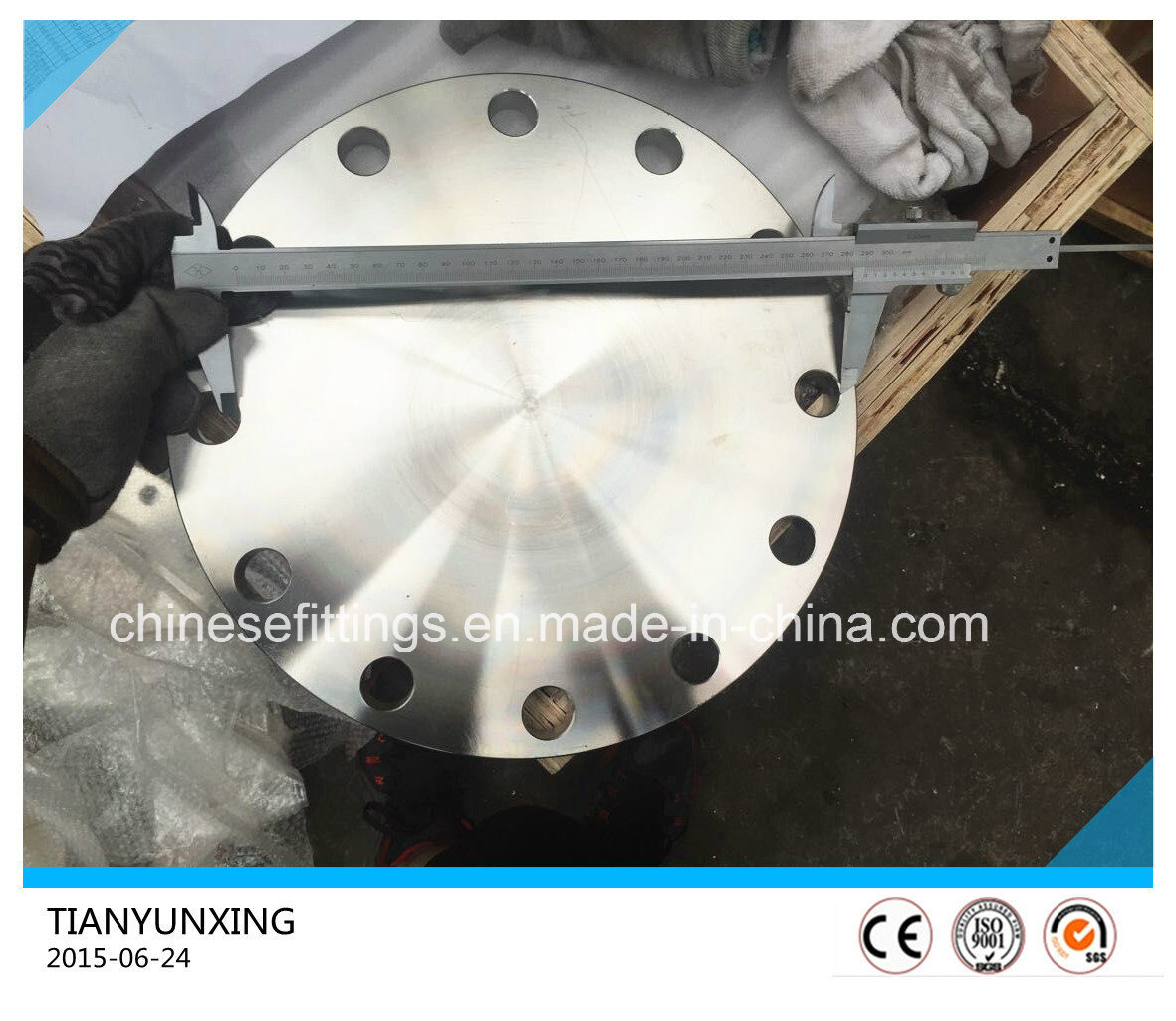 Forged JIS B2220 S31803 Deplex Stainless Steel Blind Flange