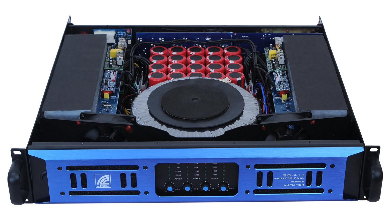 4 Channels, 2u Standard Power Amplifier