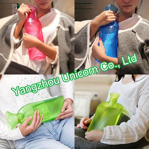 Long BS PVC Hot Water Bottle
