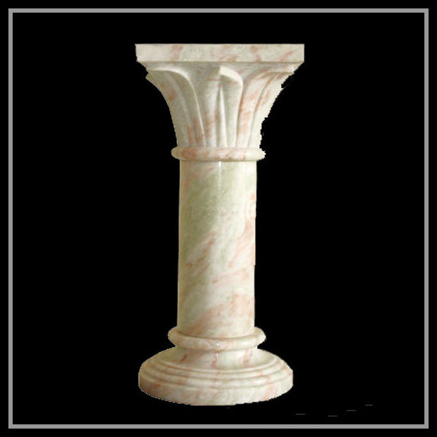China marble stone decorative columns sydkc 006 china for Decorative columns