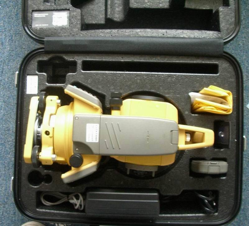 Topcon Gts102n Total Station English, Spanish, Portuguese, French Version Total Station