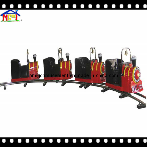 Western Little Train for Kids with Stainless Steel Railway and Fence