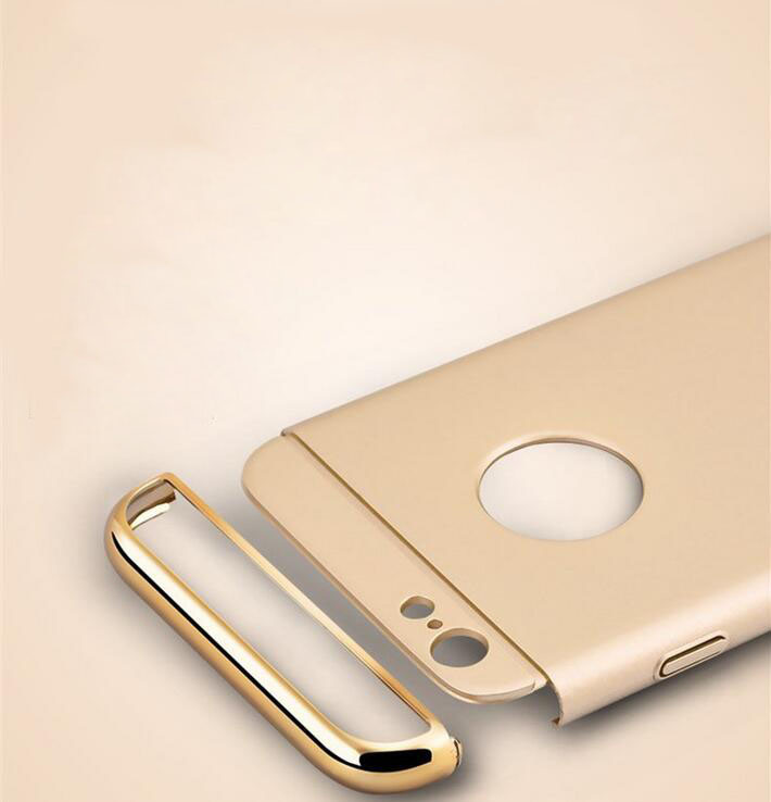 New Style TPU iPhone 6s Phone Case 3 in 1 PC Hard Shell 6/6splus Cell Phone Case 4.7 (XSSH -002)