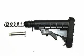 Airsoft Gun Accessory Butt Stock Butt-III (Including aluminium pipe, spring, dashpot and butt pad)