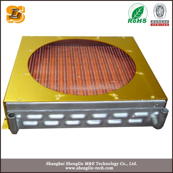 Copper Tube Aluminum Fin Condenser with Fan (4R-4T-500)