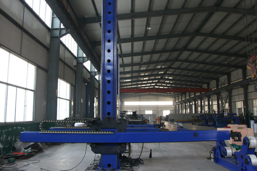 Automatic Welding Manipulator for Metal Pipe