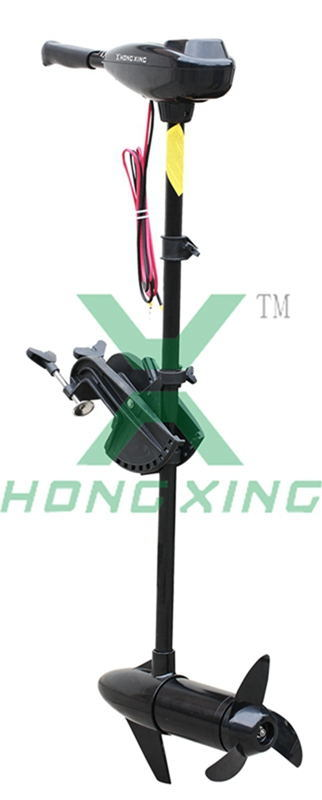 50lbs Electric Outboard Trolling Motor for Inflatable Boat Kayak Canoe