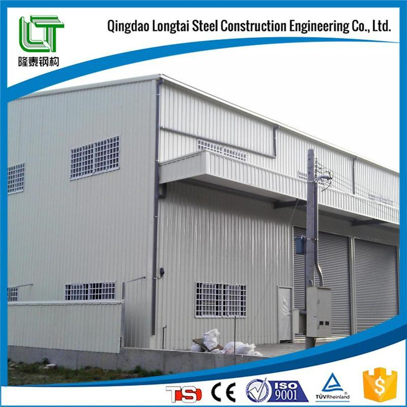 Large Space Steel Warehouse