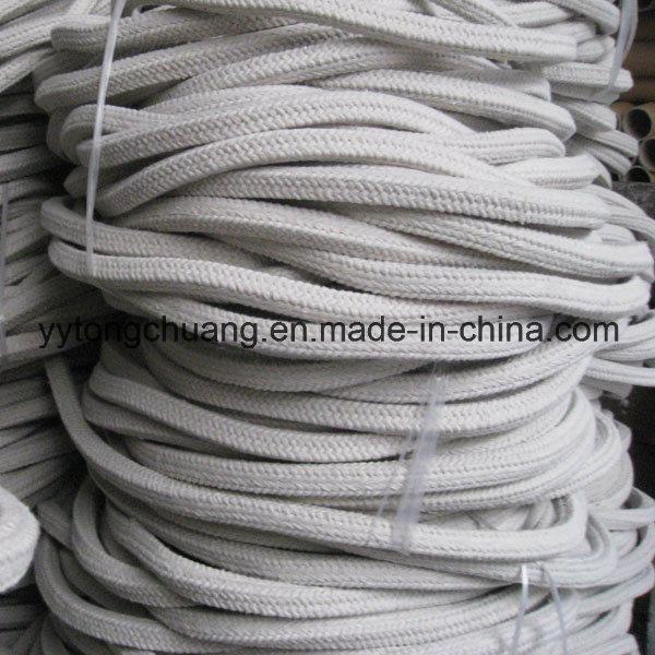 Aluminum Silicate Insulation Ceramic Fiber Square Braided Rope Gasket