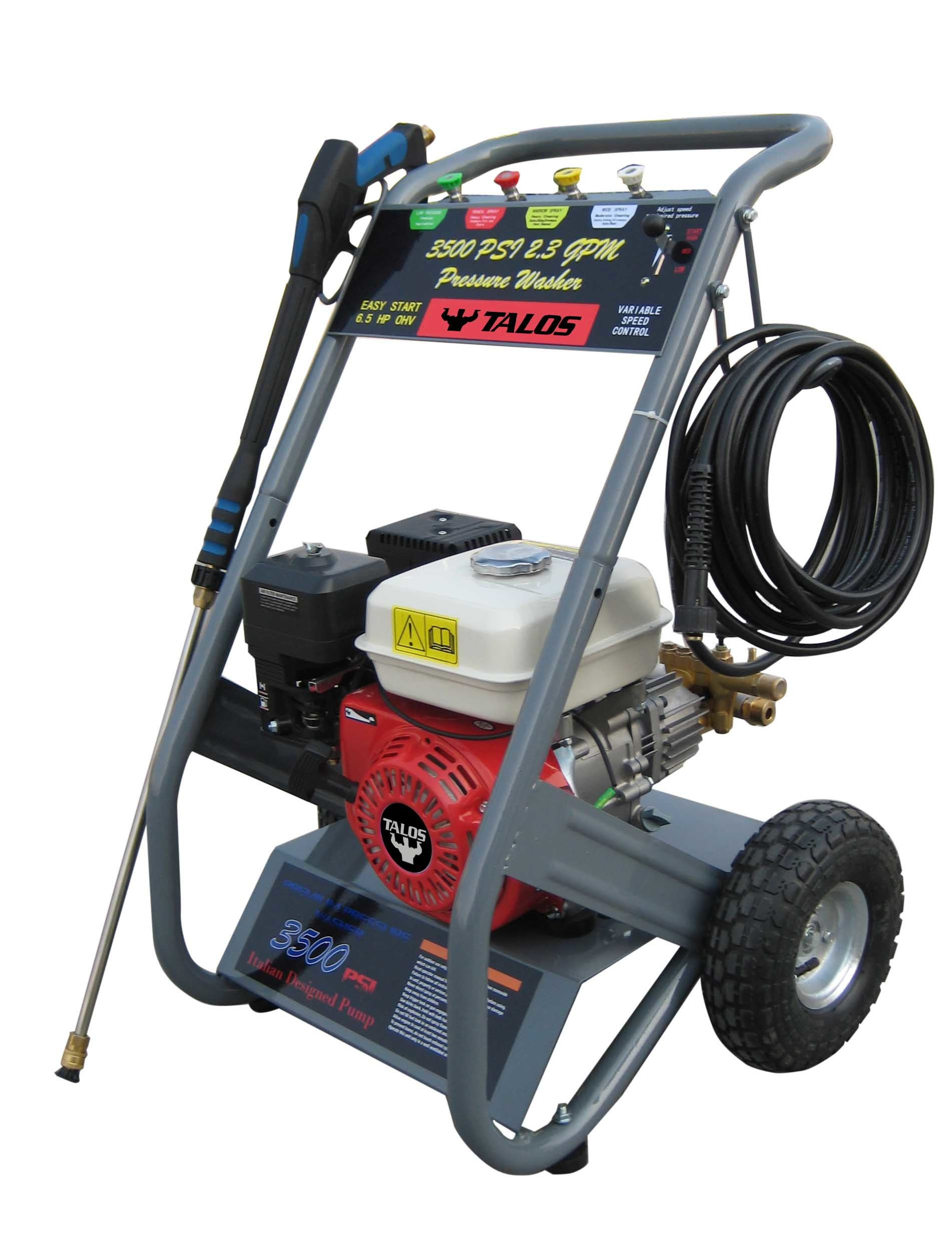 2500 Psi Cold Water Gasoline High Pressure Washer / Cleaner (PCM-170)