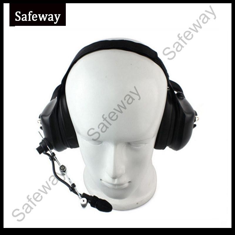 Two Way Radio Noise Cancelling Headset for Kenwood Tk3207