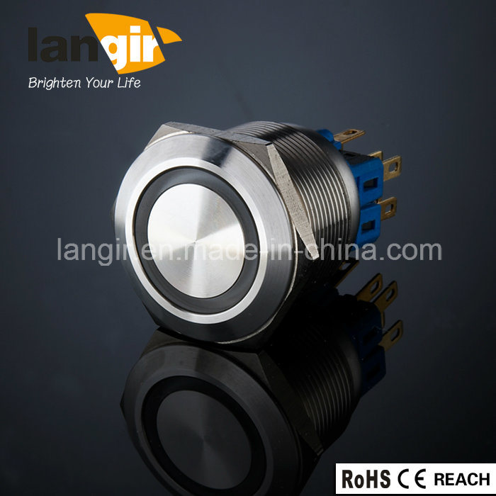 Langir L25 25mm. Metal Anti Vandal Push Button Switch