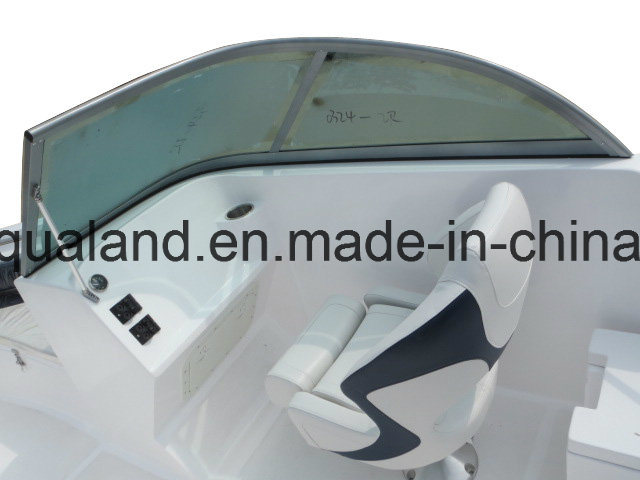 Aqualand 20.5feet 6.25m Sport Motor Boat/Bowrider/Fiberglass Boat (205br)