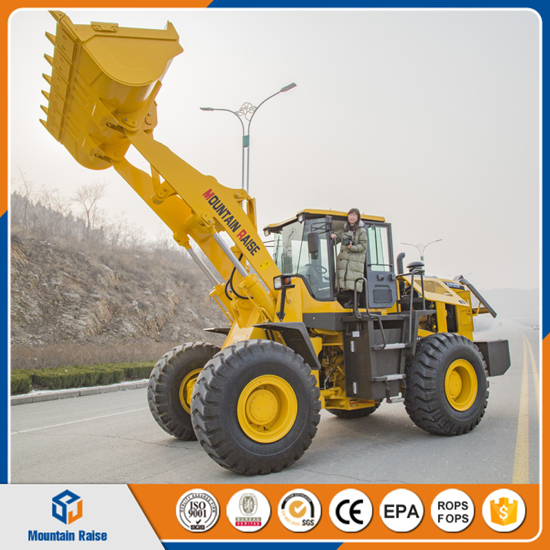 Zl50 Loading Machine Weifang Manufacturer 5t Front End Wheel Loader