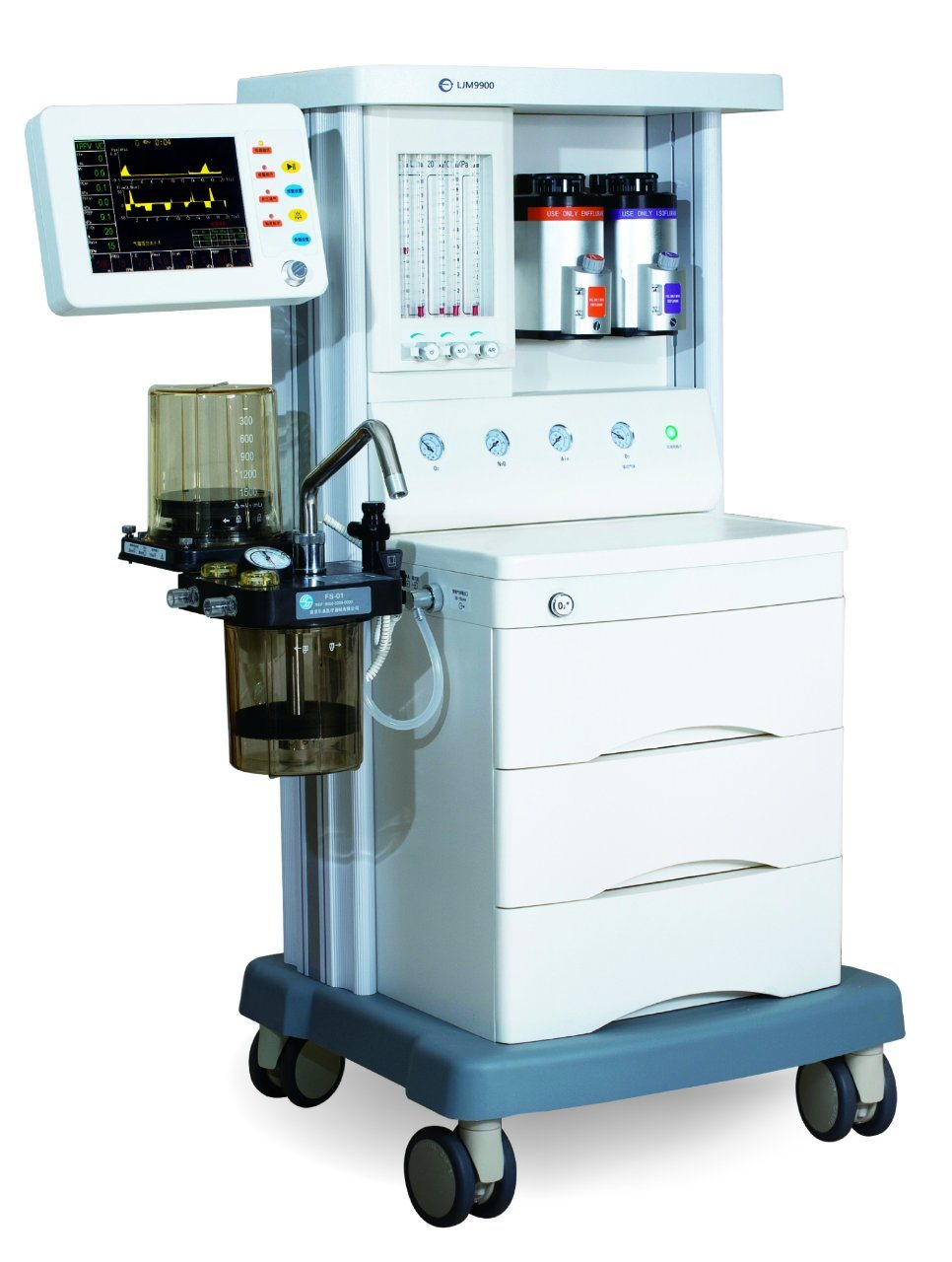 Advanced Medical Anaesthesia/Anesthesia Machine Ljm 9900 with Ce Certificate
