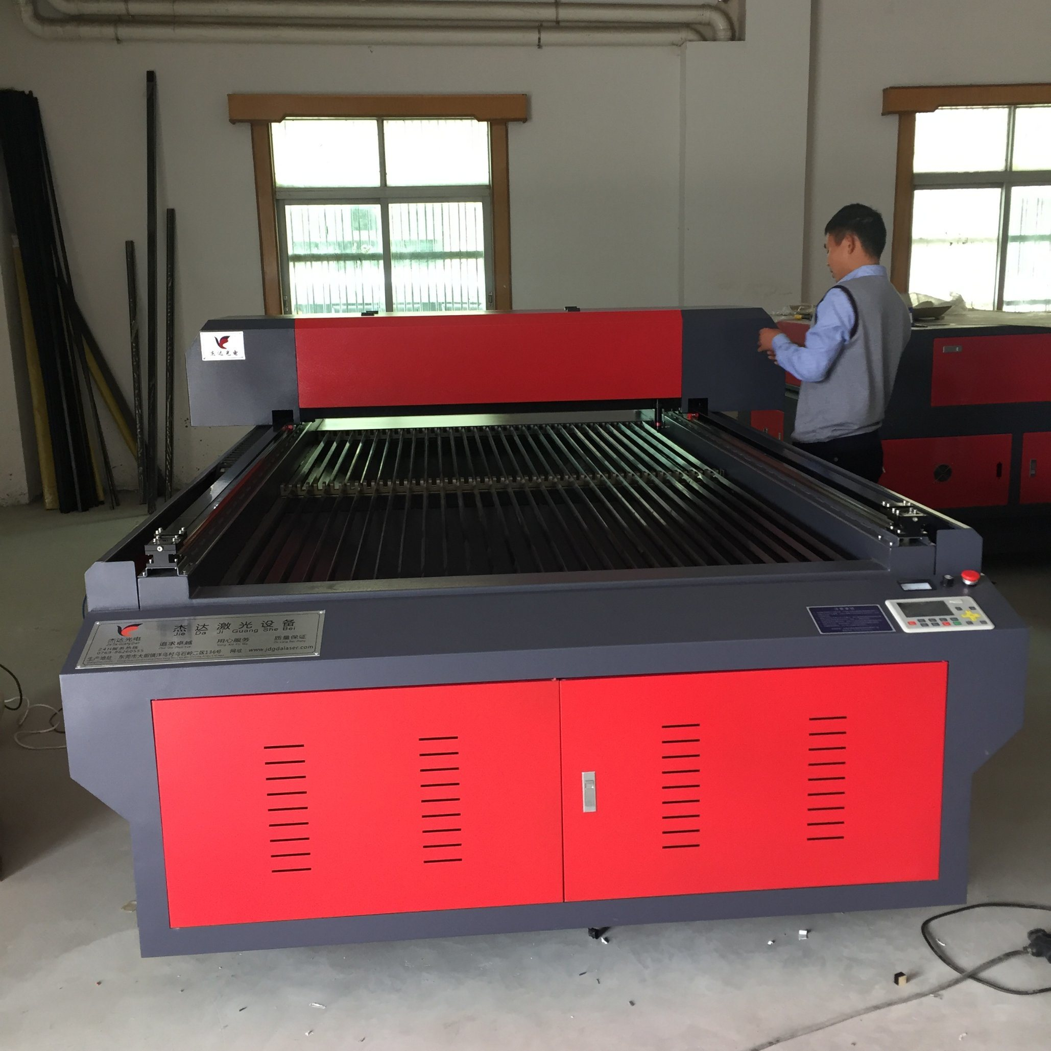 CNC Laser Cutting Machine for Metal and Non-Metal