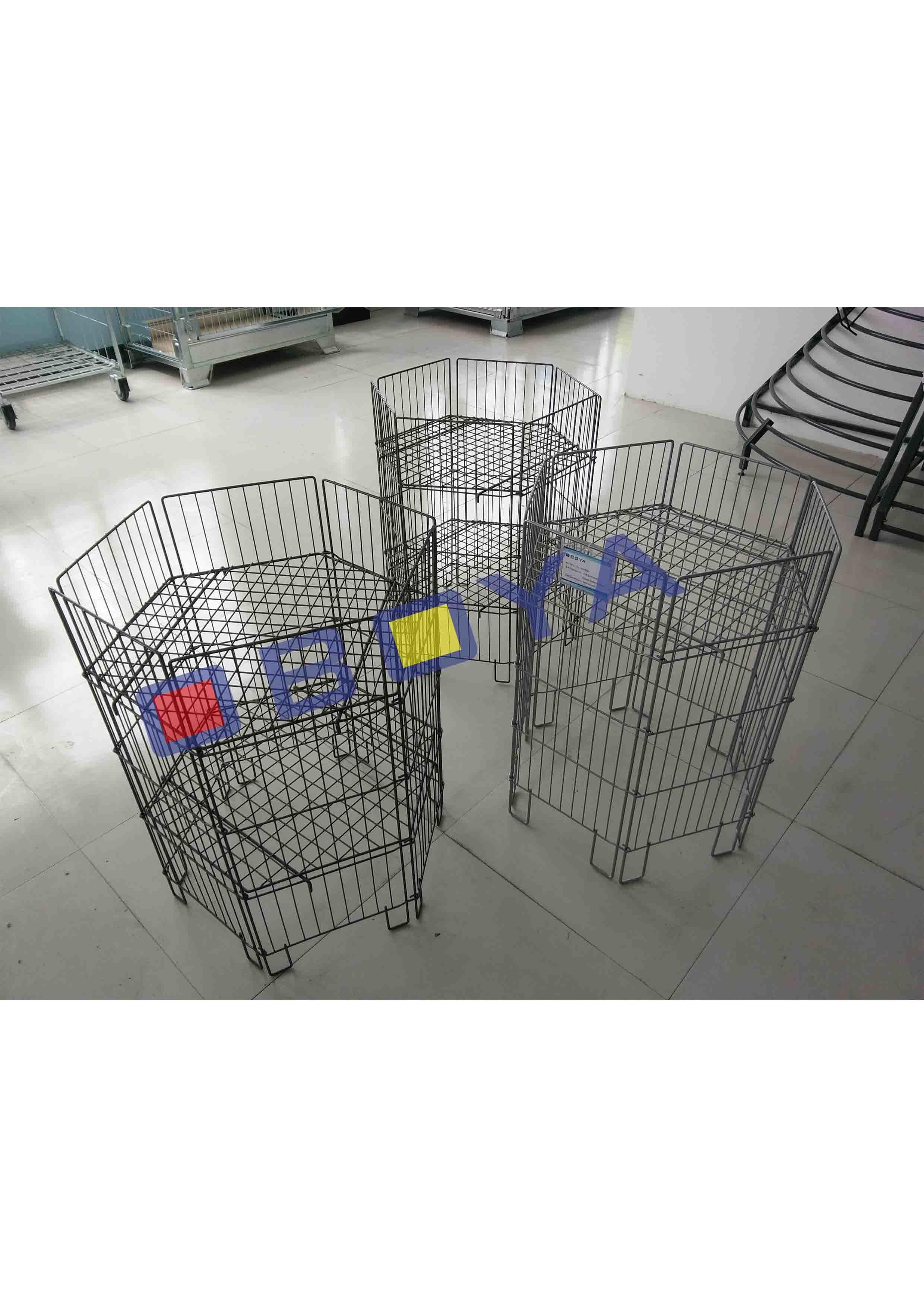 Hex Metal Cage/Rack/Basket for Supermaket and Logistic