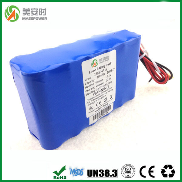 Original SANYO Cells 12V 10ah Lithium Battery