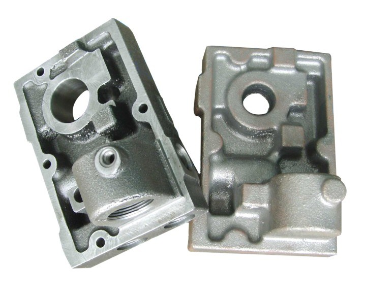 Custom Ductile Iron Casting with Pump Parts