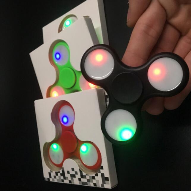 LED Hand Spinner EDC Spinner with LED Lights