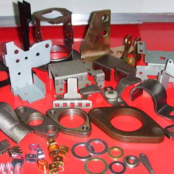 China OEM Fabricated Aluminum Stamped Parts