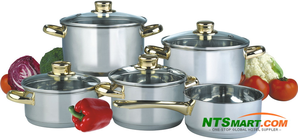 9PCS Stainless Steel Cookware (000002517)