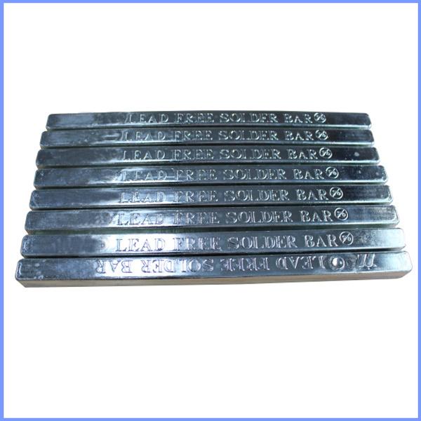 High Quanlity Lead Free Tin Solder Bar