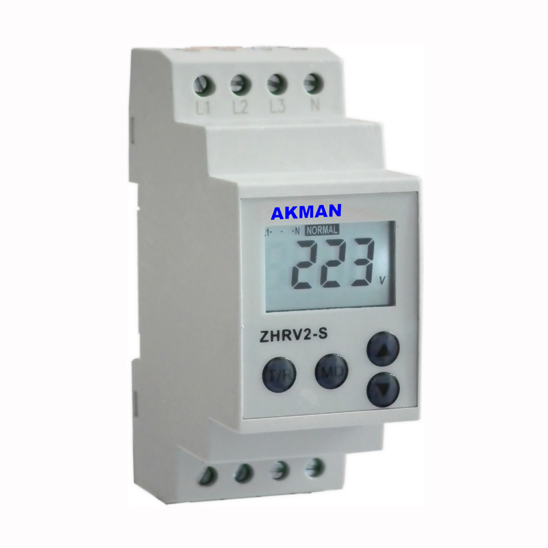 LCD Display Motor Voltage Protection Relay With Multi Protective Function