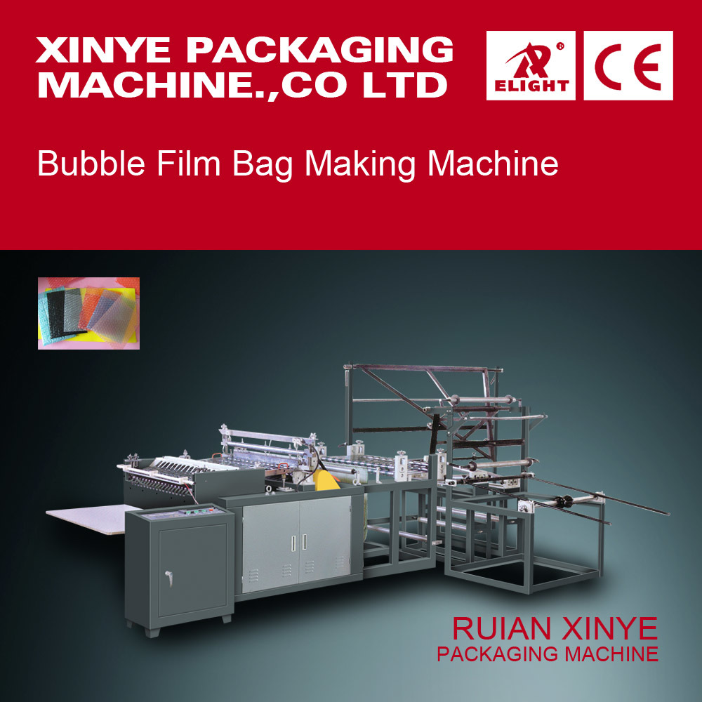 PVC PE III Arc-Shaped Sealing Bag-Making Machine (Double Line)