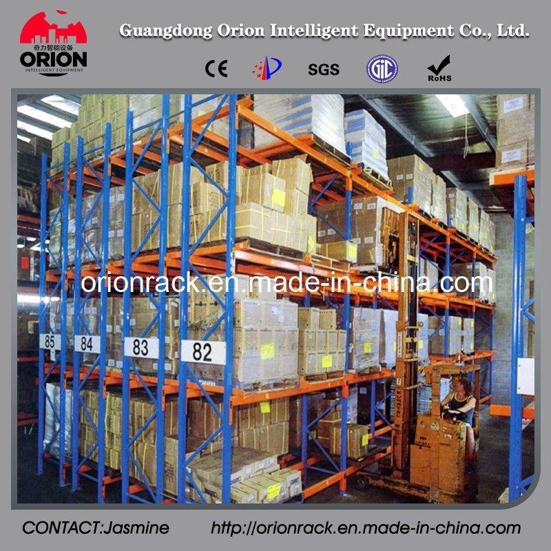 Double Deep Warehouse Display Rack Shelf
