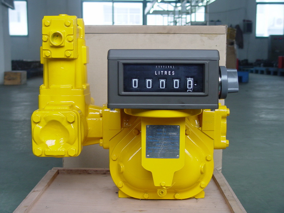 LC Positive Displacement Flow Meter/Fuel Dispenser Flow Meter/Diesel Gas Petroleum Flowmeter/Measuring Instrument