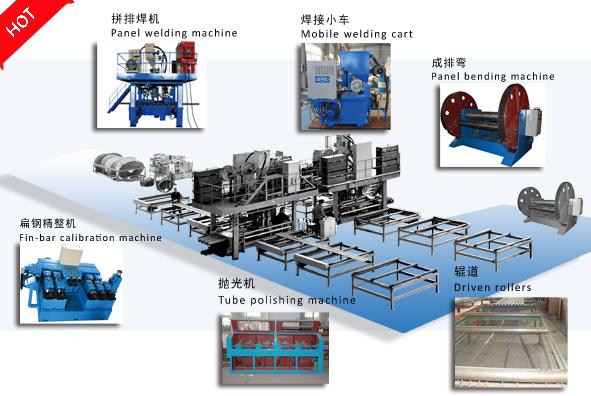Boiler Membrane Panel Welding System