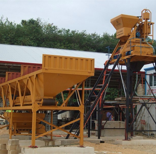 Concrete Mixing Plant (HZS25) for Sri Lanka