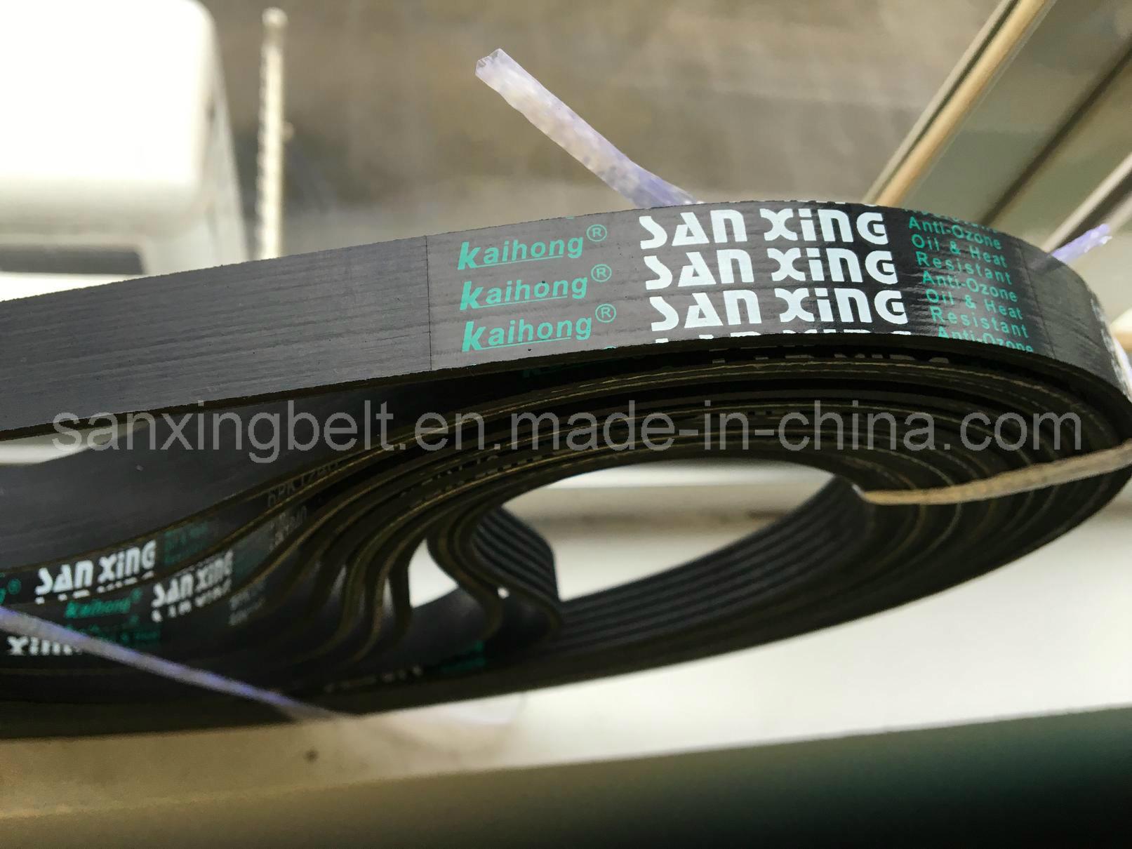 EPDM Poly V Belt for Industrial Cooling Fan