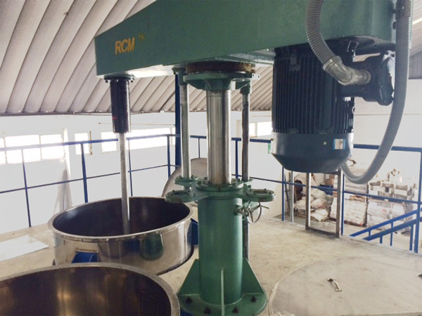 Dispersion Machine for Pre-Mixing
