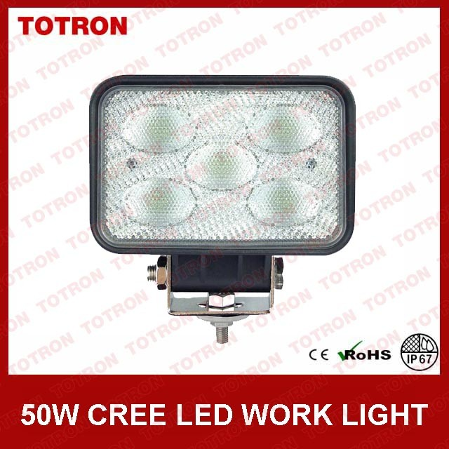 4000lm 50W LED Work/Driving Light/Heave Industry IP67