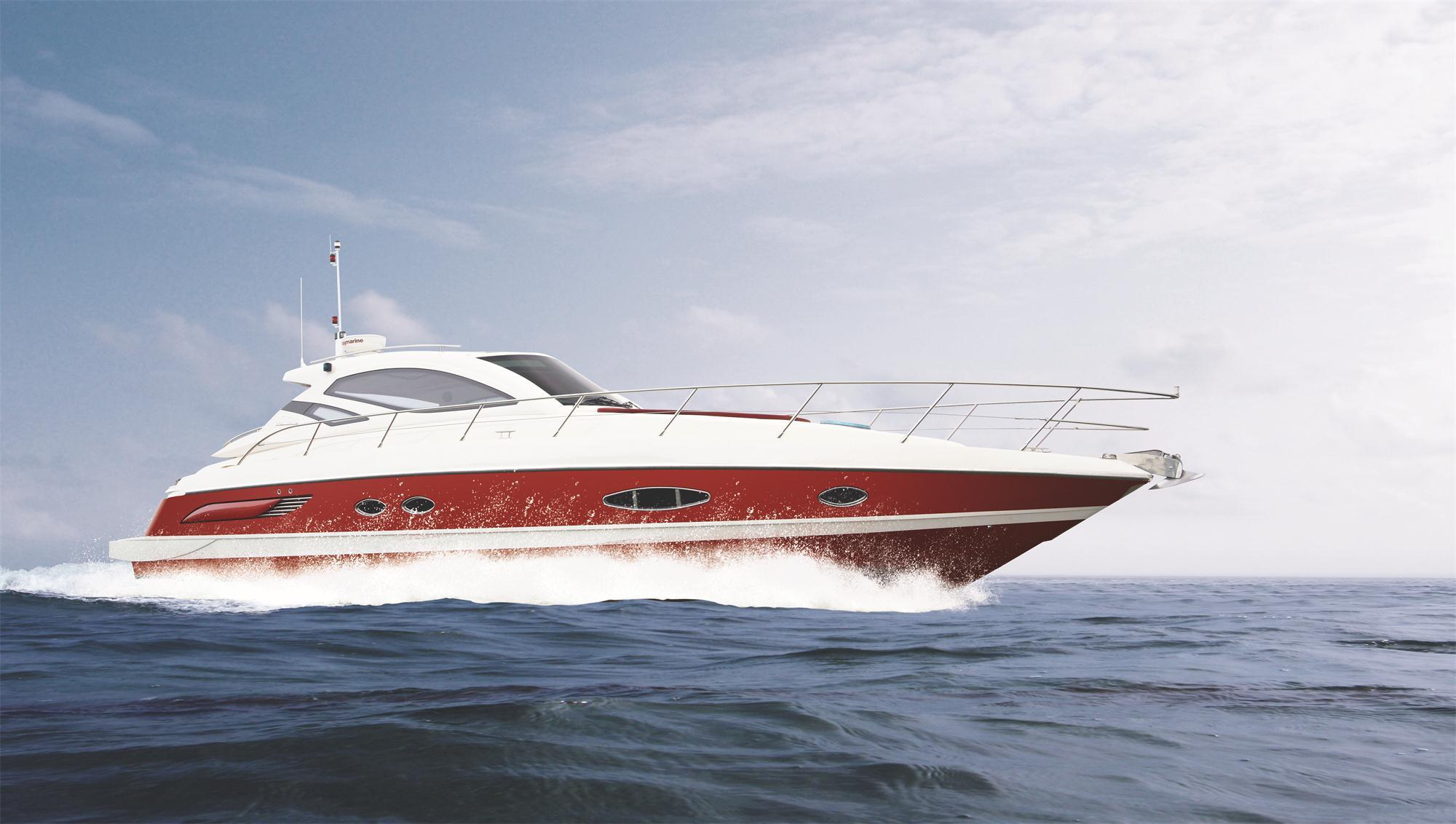 Seastella 46ft Luxury Sport Yacht with Express Cruiser