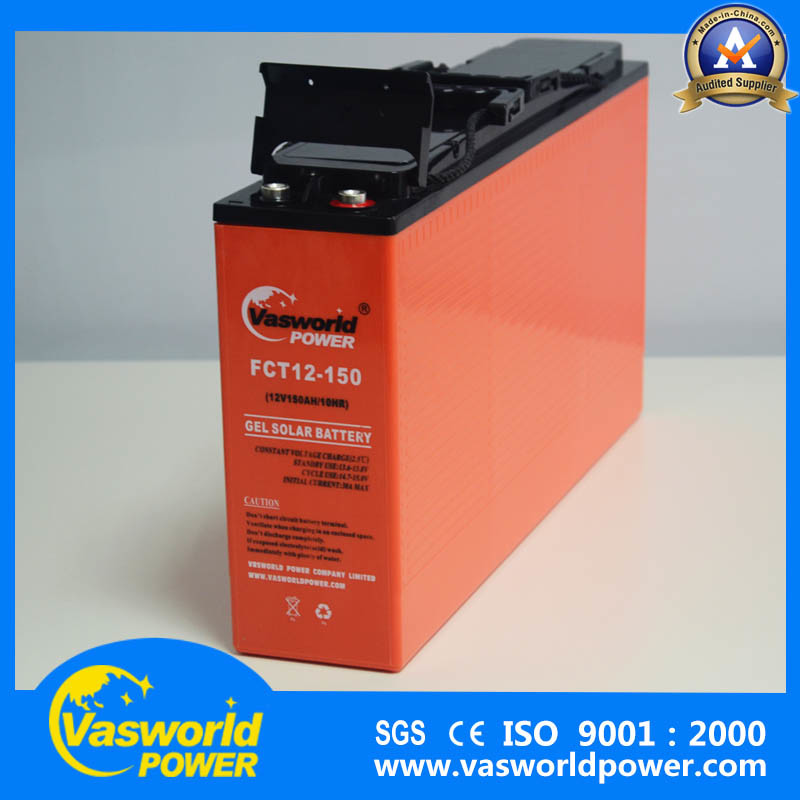 AGM Lead Acid Battery 12V150ah Front Terminal Sealed Rechargeable Power Battery