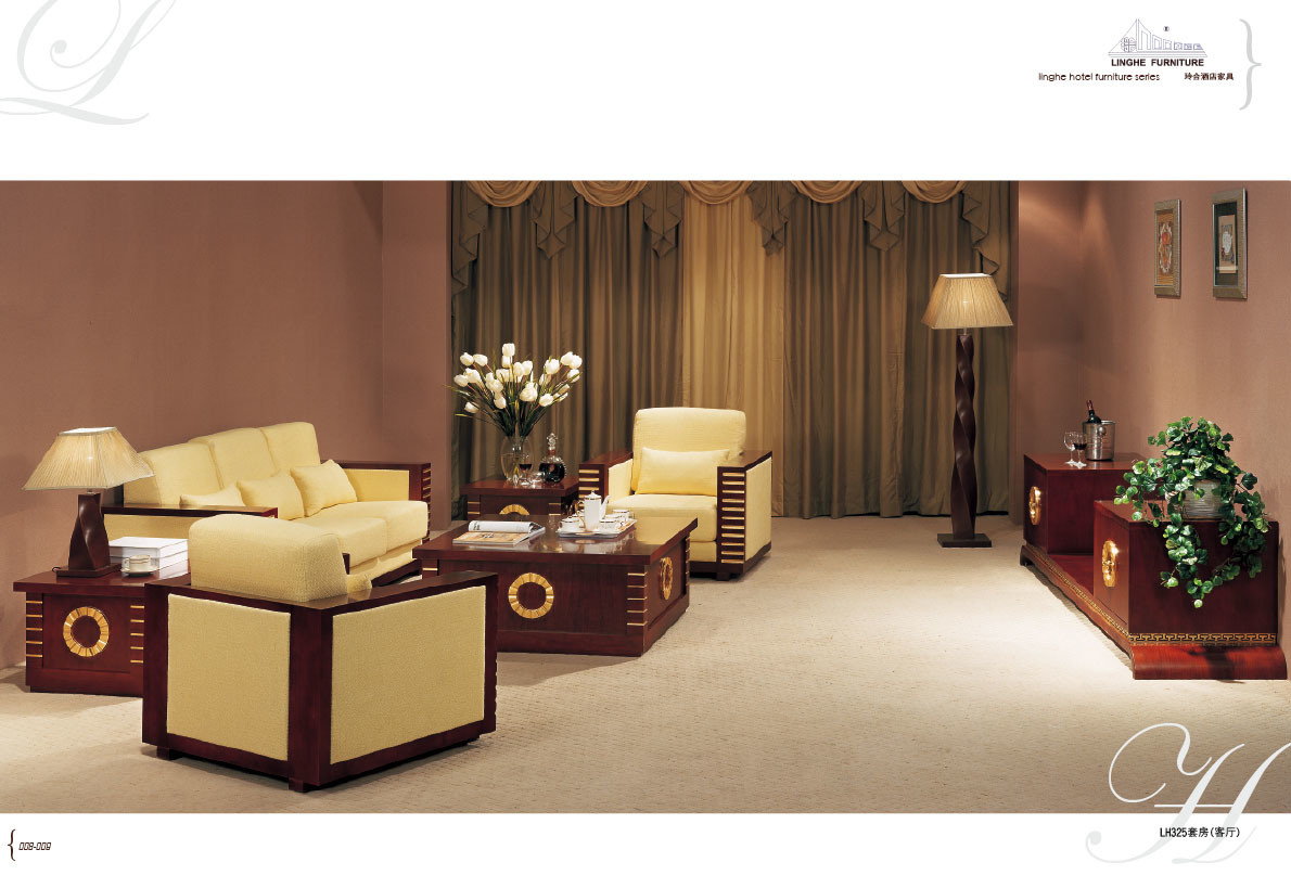 China Hotel Living Room Sofa LH325 Photos Pictures