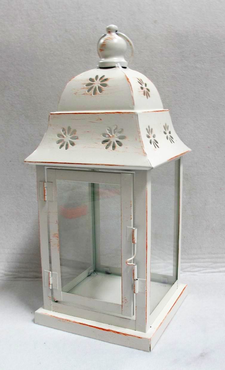China candle holder lantern metal decoration 0247 for Wire candle lantern