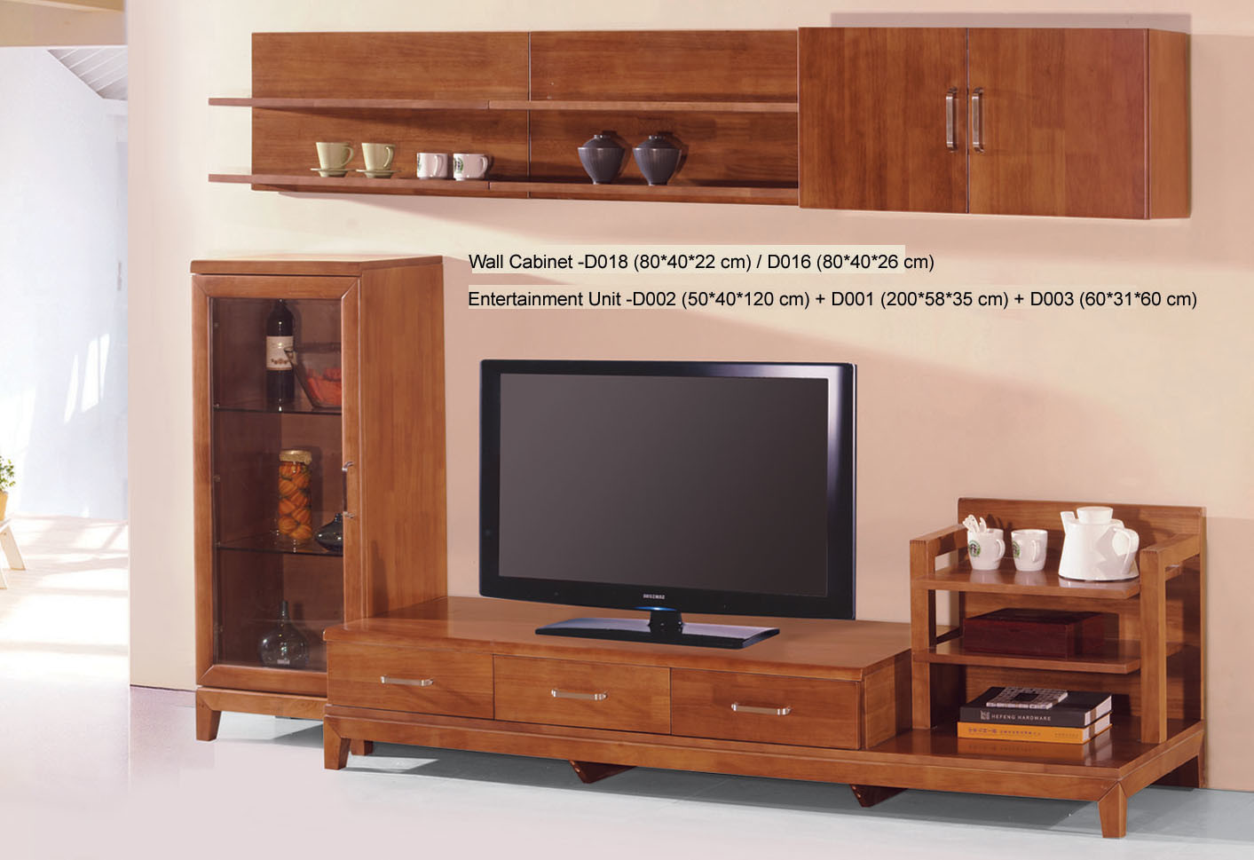 China TV Unit Stand Wall Cabinet D018 D016 D002