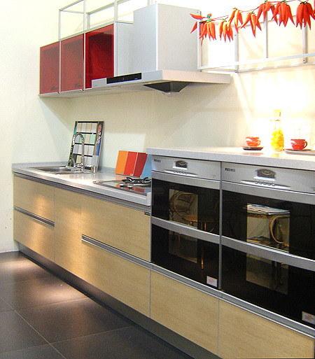 Melamine Kitchen Cabinet AM 007 China Melamine Kitchen Cabinet