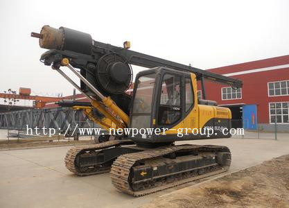 Multifunction Mini Crawler Pressure Rotary Drilling Rig (NPCP 15)