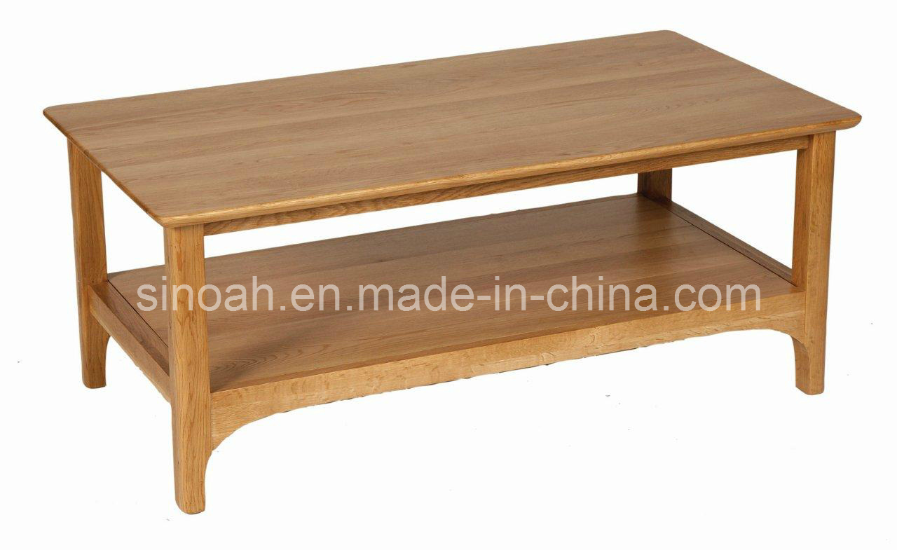 China Solid Oak Wood Provence Coffee Table Tea Table End Table Wooden Livingroom Furniture