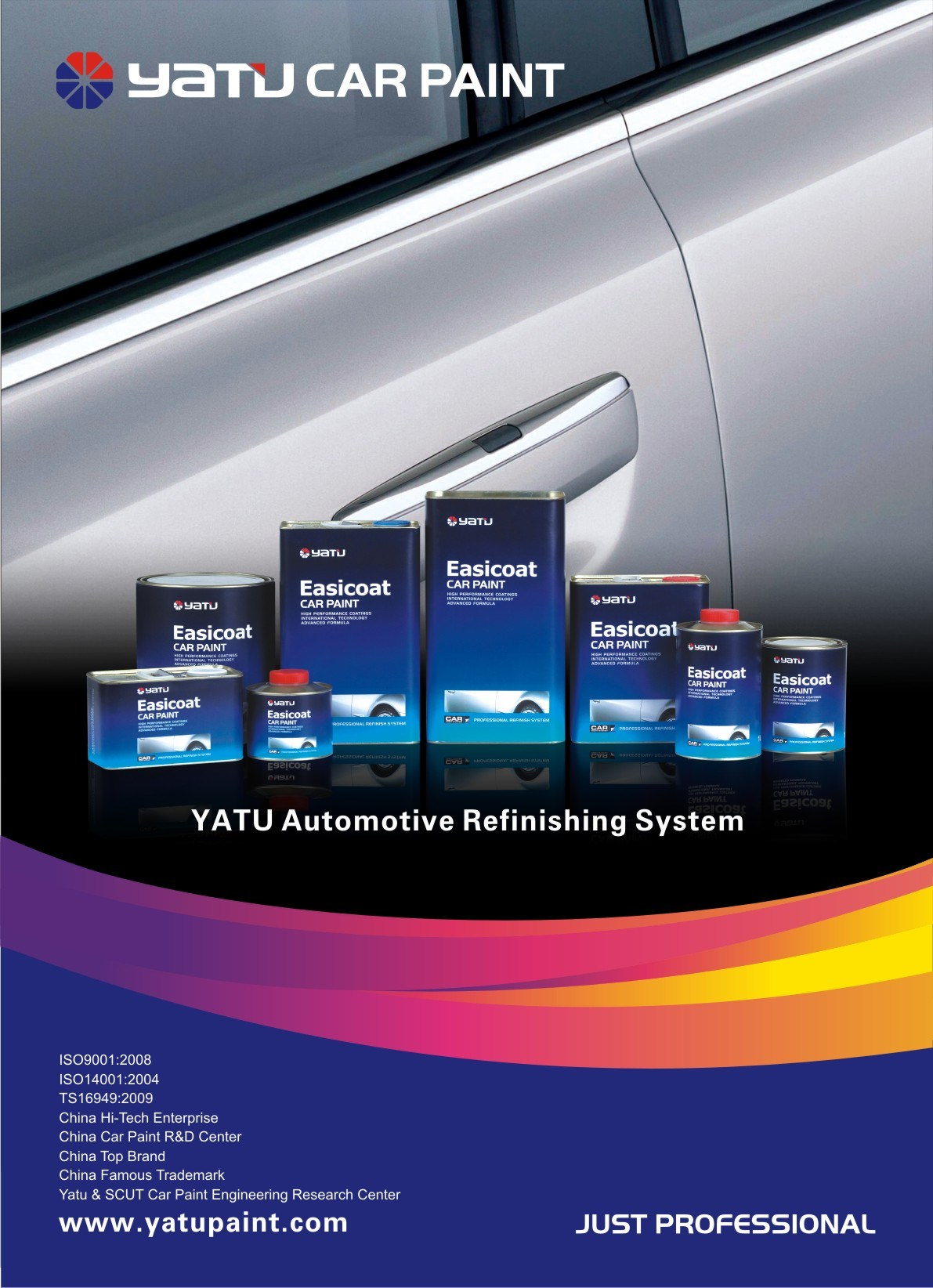 Yatu Automotive Paint, Automotive Refinish