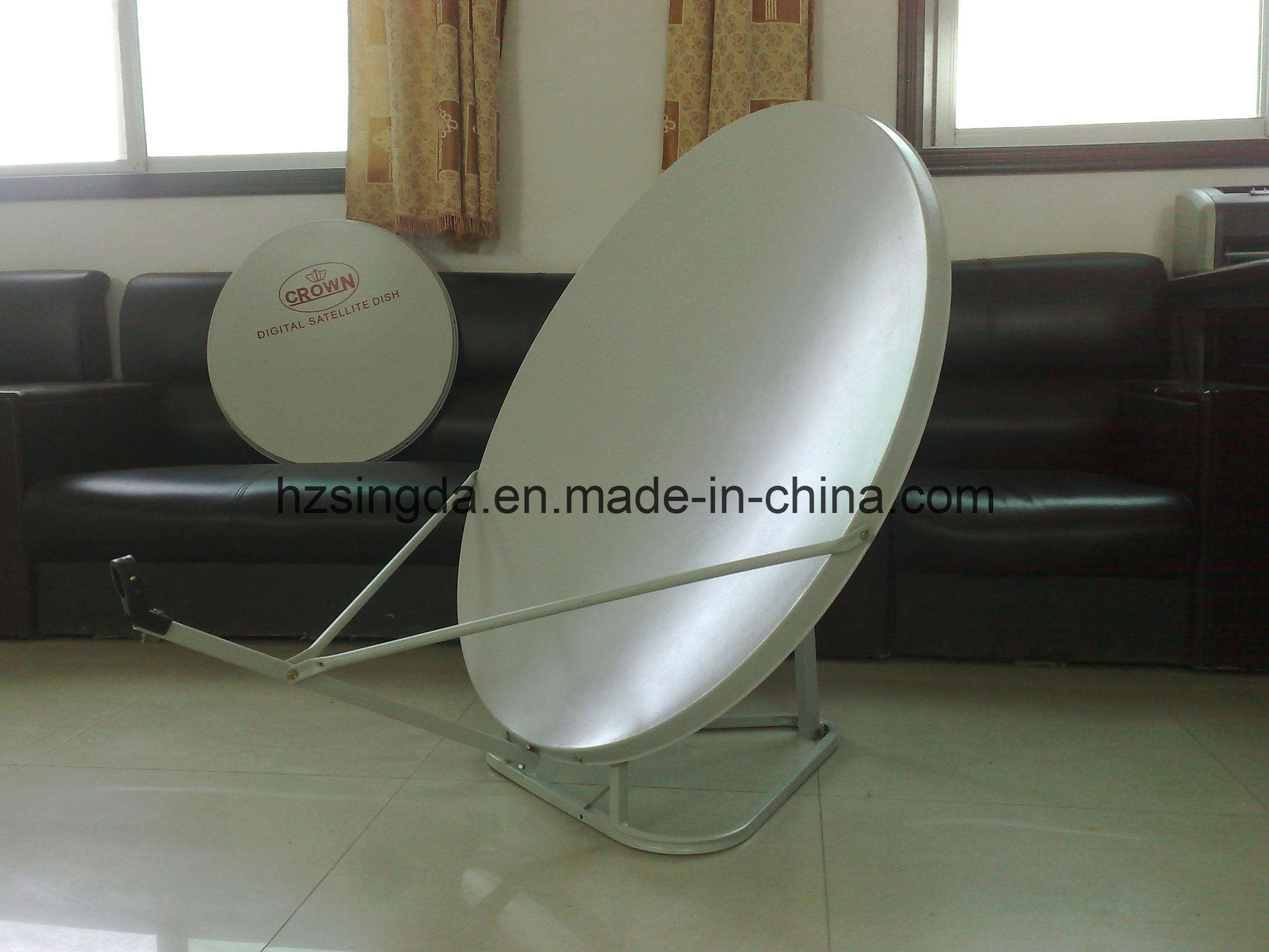 Ku Band satellite dish universal with SGS Certification