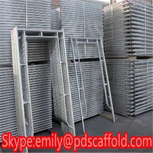 High Quality Custom Steel H U Frame Scaffold