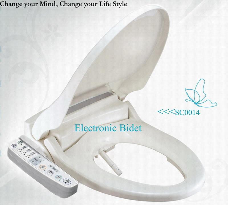 China Electronic Bidet Intelligent Rinse Toilet Seat