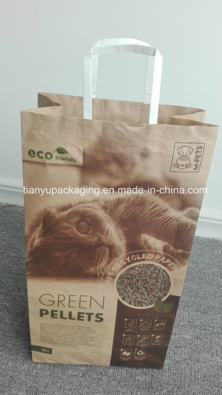 Cat Litter Paper Bag Multilayer Paper Packaging Kraft Bag