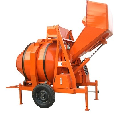 Self Loading Concrete Mixer with Hydraulic Loading Hopper Hot Sale in Africa